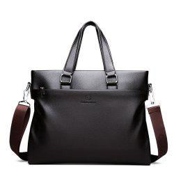 Briefcase Business Portable Shoulder Messenger Men Bag -