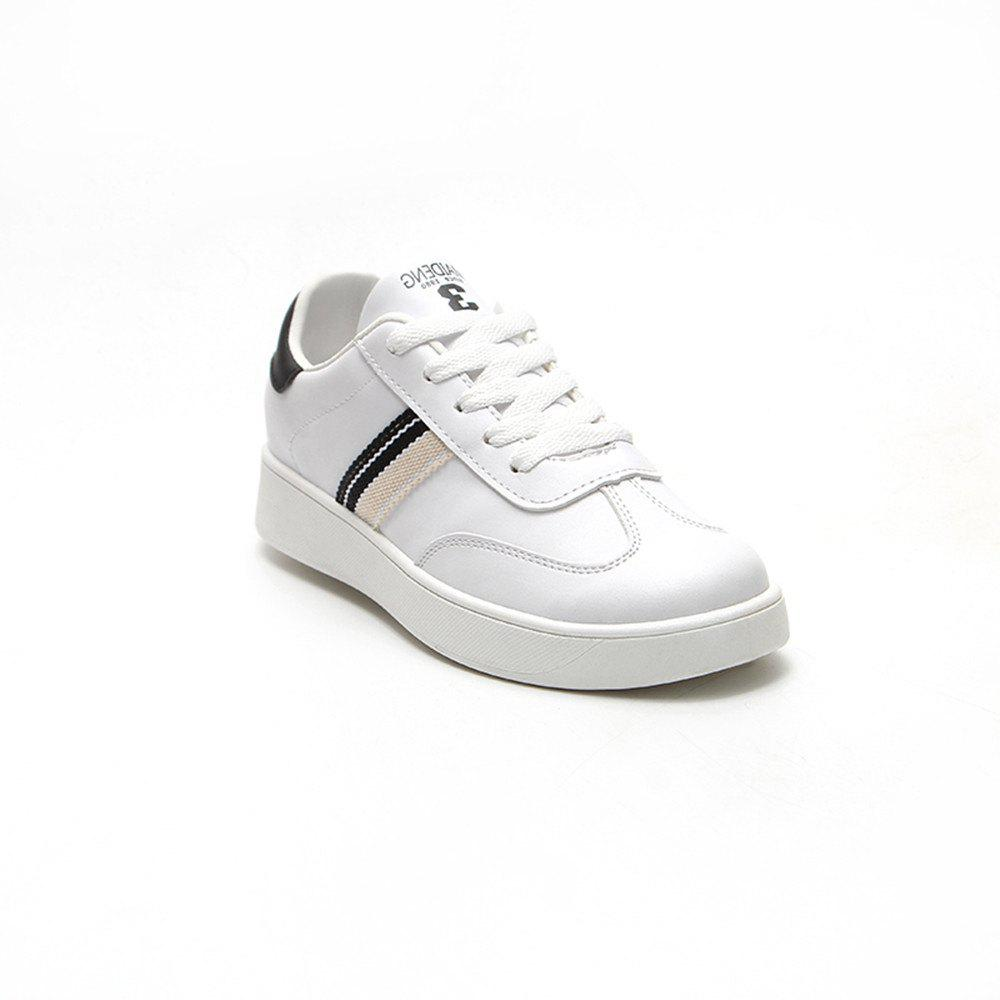 Cheap The New Spring All-Match Student Leather Fresh Art Leisure Shoes