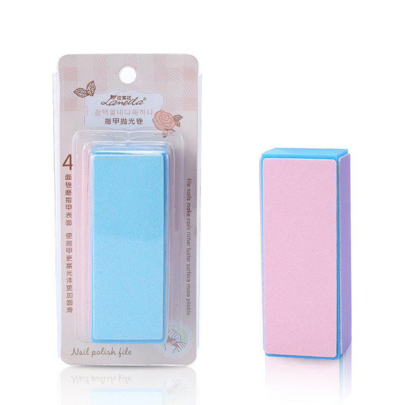 New Lameila Manual Nail File Buffing Sanding Block Manicure Tool