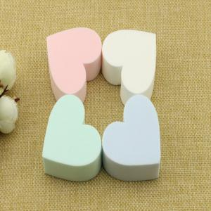 Lameila Heart Shape Cosmetic Puff Sponge Base Makeup Tool 4PCS -