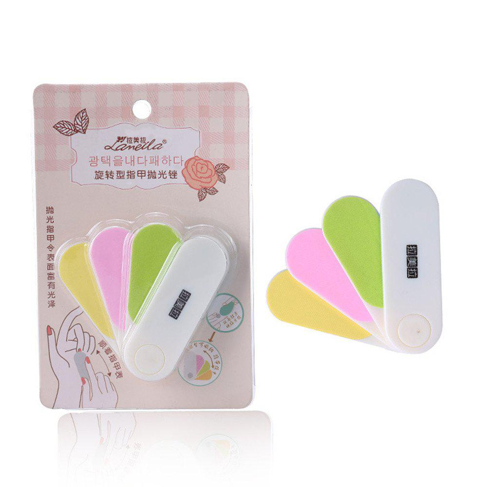 Unique Lameila Cosmetic Rotary Type Nail File Makeup Tool