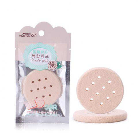 Buy Lameila Durable BB Cream Hollow Out Circle Powder Puff Makeup Tool