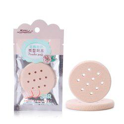 Lameila Durable BB Cream Hollow Out Circle Powder Puff Makeup Tool -