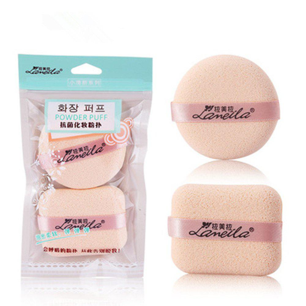 Sale Lameila Cosmetic Sponge Powder Puff Makeup Tool 2PCS
