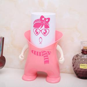 Wash Suit Creative Toothbrush Holder Dust-Resistant Mouth Cup Variety Shape -