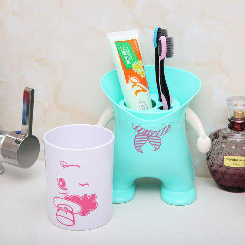 Chic Wash Suit Creative Toothbrush Holder Dust-Resistant Mouth Cup Variety Shape