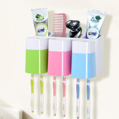 Buy Creative Sucker Toothbrush Holder Mouthwash Set for Three People