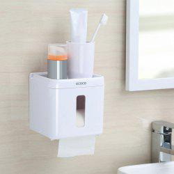 Toilet Paper Towel Storage Box Punch-Free Reel Multi-Purpose Racks -