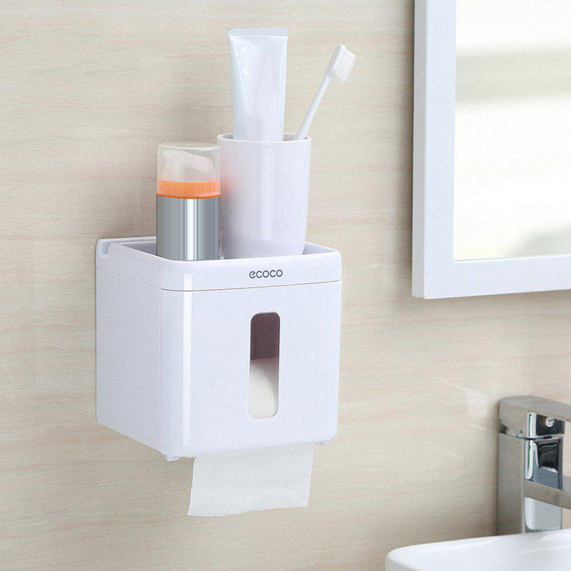 Latest Toilet Paper Towel Storage Box Punch-Free Reel Multi-Purpose Racks