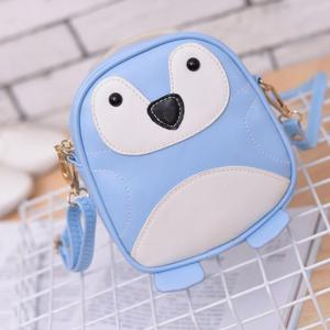Girl's Shoulder  Penguin Pattern Cute Kids Bag -