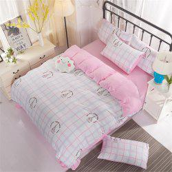 Washed Cotton Four-piece Bedding Set -