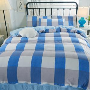 Washed Cotton Four-Piece Set Bedding -