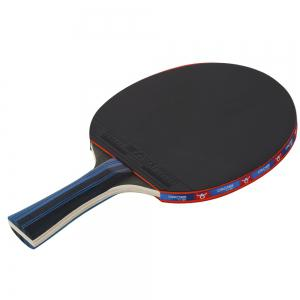 BOLI Advanced 2 PCS Wooden Table Tennis Paddle Trainning Ping Pong Racket With Carry Case -