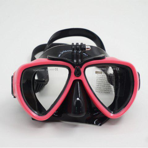 Affordable Face Plates Snorkeling Mask Anti-fogging Goggles 206