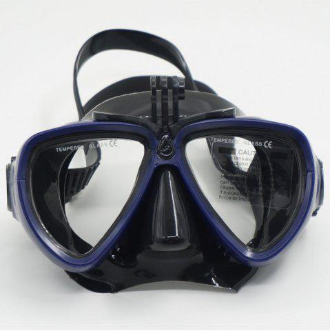 Fancy Face Plates Snorkeling Mask Anti-fogging Goggles 206
