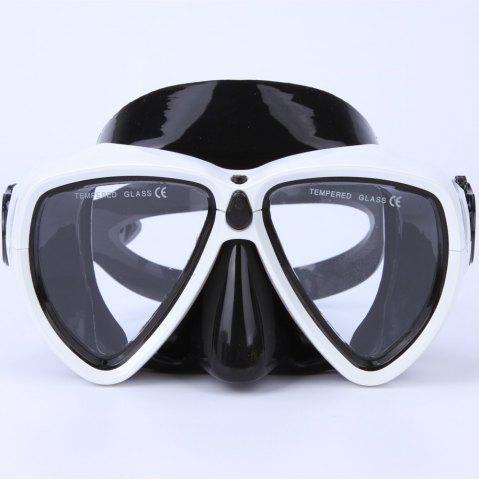 Outfit Face Plates Snorkeling Mask Anti-fogging Goggles 206