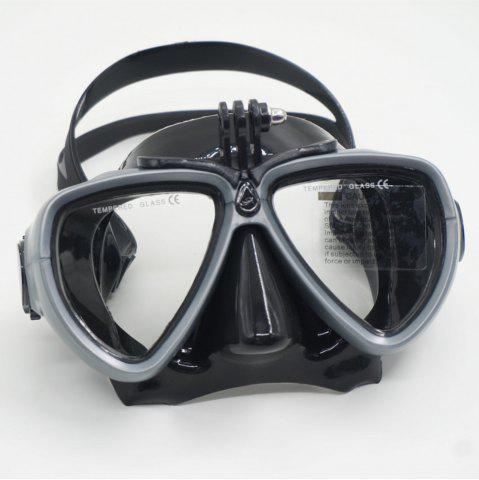 Chic Face Plates Snorkeling Mask Anti-fogging Goggles 206