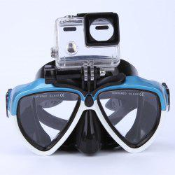 Face Plates Snorkeling Mask Anti-fogging Goggles 206 -