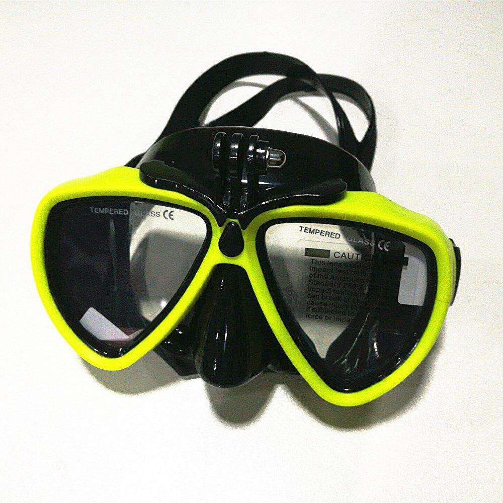 Latest Face Plates Snorkeling Mask Anti-fogging Goggles 206