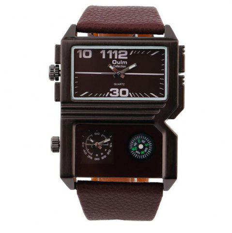 Chic Fashionable Man Compass Watch