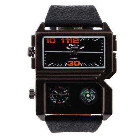 Outfits Fashionable Man Compass Watch