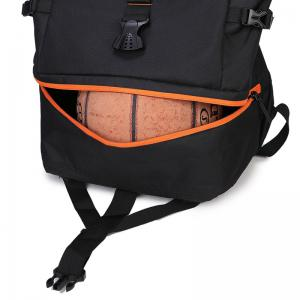 New Men'S Sports Wind Large Capacity Solid Color Backpack -