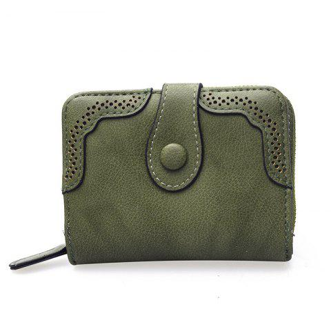 Outfit Hollowed Ladies Purse Multi-functional Wallet
