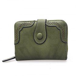 Hollowed Ladies Purse Multi-functional Wallet -