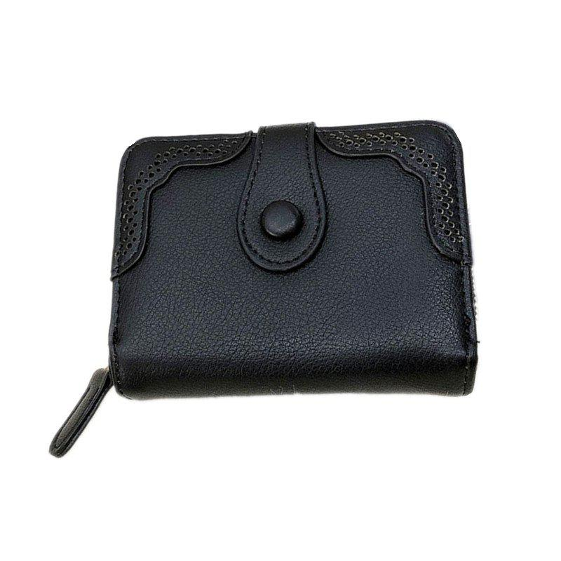 Cheap Hollowed Ladies Purse Multi-functional Wallet