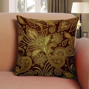 European Style Pattern Dark Pillow Cushion Cover Abstract Texture Home -