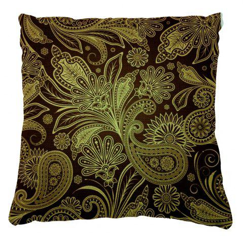 Outfit European Style Pattern Dark Pillow Cushion Cover Abstract Texture Home