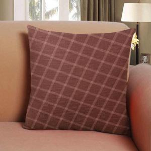 Cotton Pillowcases Hold Line Pattern Decoration Cushion Cover -
