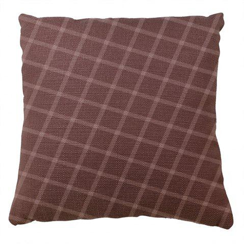 Хлопок наволочки Hold Line Pattern Decoration Cushion Cover