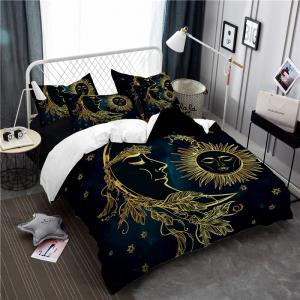 Active Printing and Dyeing Sun Moon Series Bedding Set Three and Four Pieces AS25 -