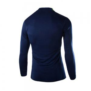 2018 Autumn and Winter New Men Casual Long-Sleeved Sports T Shirt -