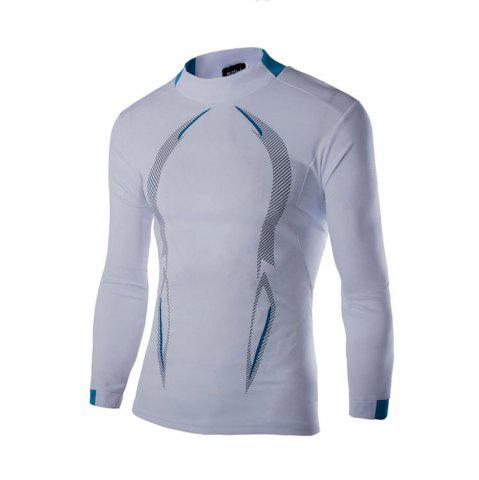 Unique 2018 Autumn and Winter New Men Casual Long-Sleeved Sports T Shirt