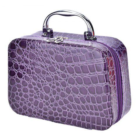 New Fashion Cosmetic  Box Makeup Beauty Bags Travel Jewelry Display Case Toiletries Handbag