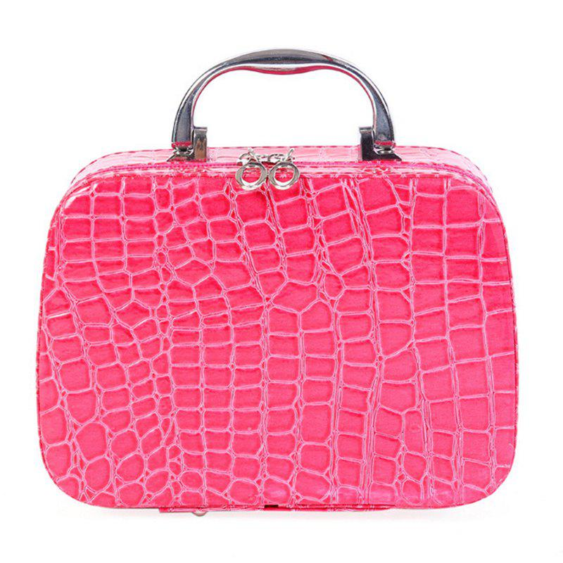 Fashion Fashion Cosmetic  Box Makeup Beauty Bags Travel Jewelry Display Case Toiletries Handbag