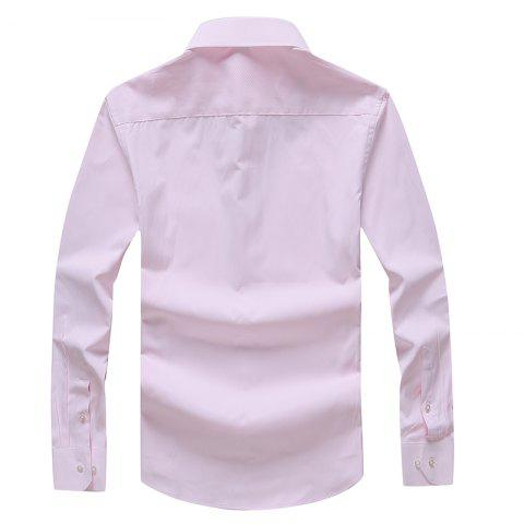 Online Autumn Men's Pure Color Fashion and Leisure Bottoming Shirt