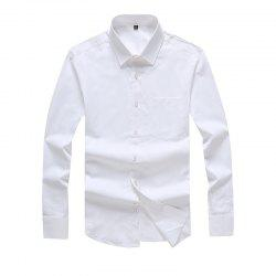 Autumn Men's Pure Color Fashion and Leisure Bottoming Shirt -