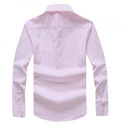 Autumn Men's Solid Color Fashion and Leisure Bottoming Shirt -