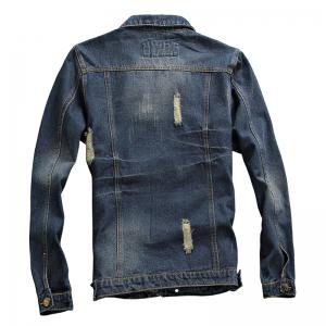 Spring and Autumn Men's Denim Leisure Jackets -