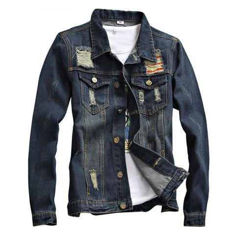 Outfits Spring and Autumn Men's Denim Leisure Jackets