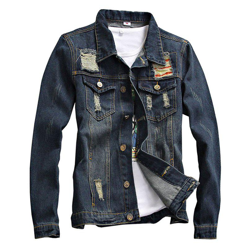 Latest Spring and Autumn Men's Denim Leisure Jackets