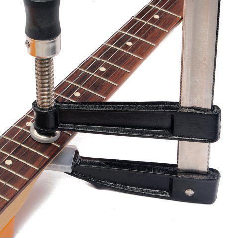 Guitar Bass Fingerboard Fret Press Metal Inserts Luthier Fretting Tool BLACK