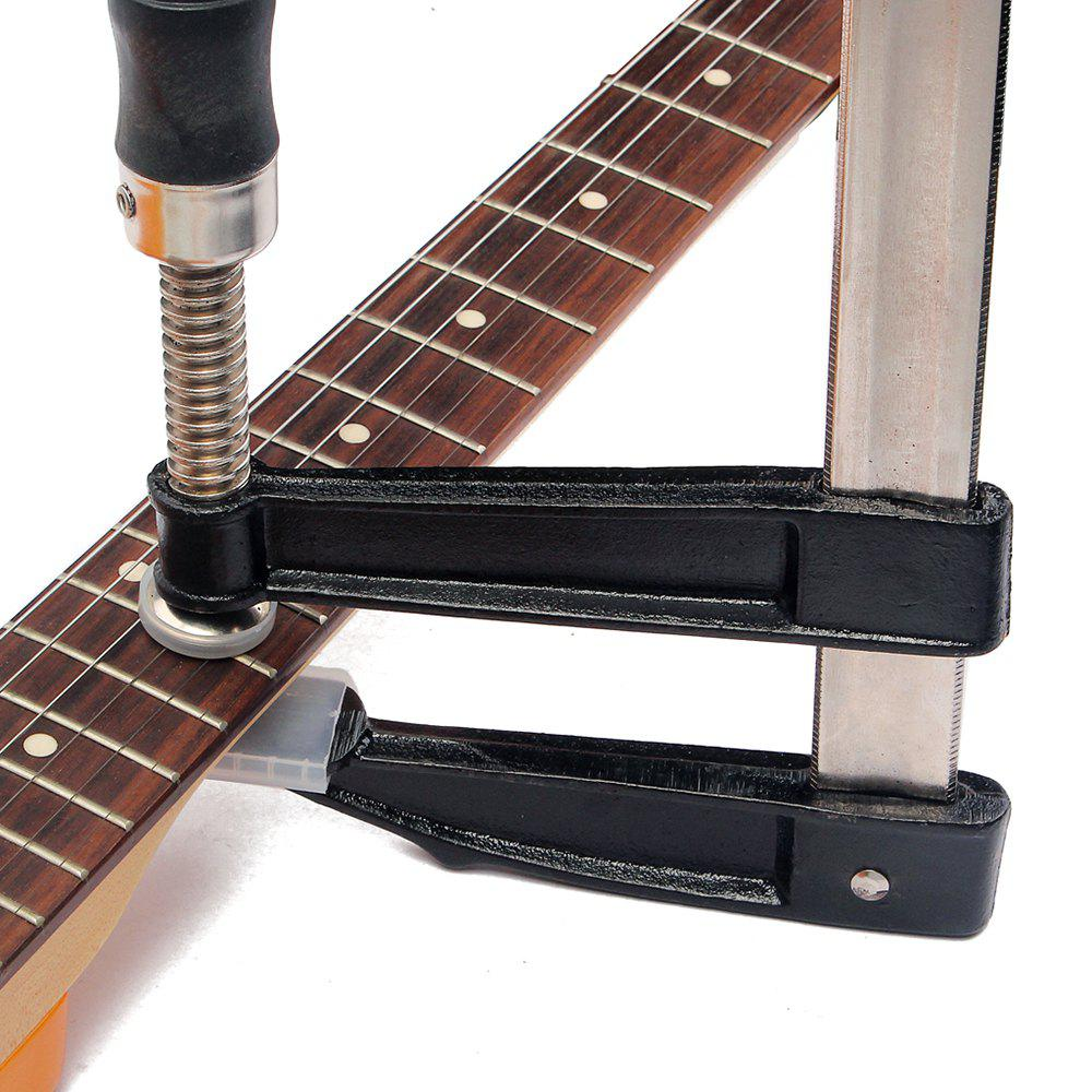 Discount Guitar Bass Fingerboard Fret Press Metal Inserts Luthier Fretting Tool
