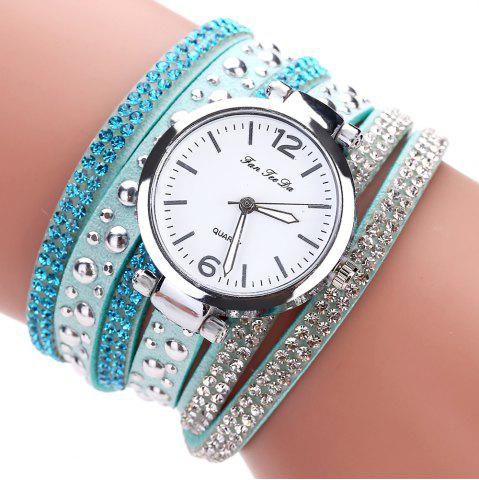 Affordable Fanteeda FD083 Women Fashion Wrapping wrist Watch
