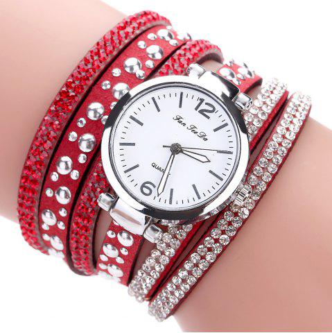 Fashion Fanteeda FD083 Women Fashion Wrapping wrist Watch