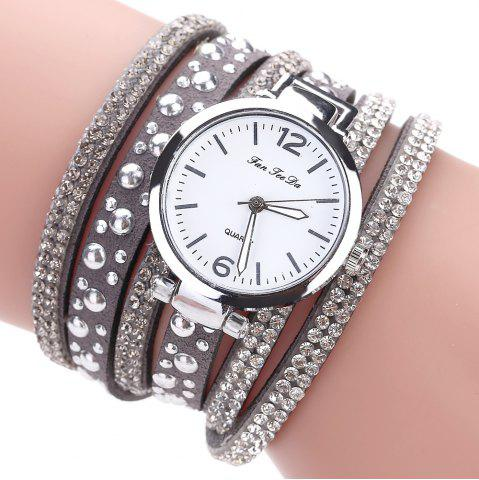 Outfit Fanteeda FD083 Women Fashion Wrapping wrist Watch