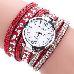 Fanteeda FD083 Women Fashion Wrapping wrist Watch -